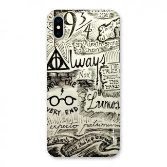 Doodle Art Back Case for iPhone X