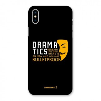 Dramatics Back Case for iPhone X