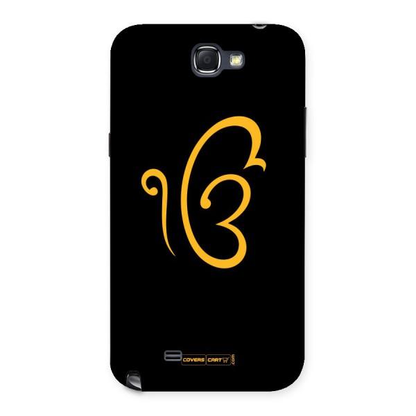 Ik Onkar Back Case for Galaxy Note 2