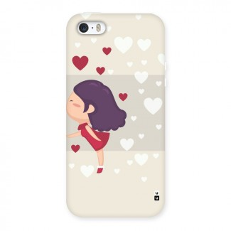 Girl in Love Back Case for iPhone 5 5S