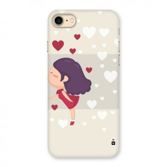 Girl in Love Back Case for iPhone 7