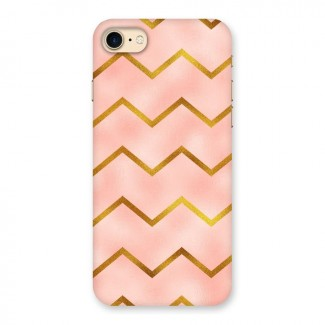 Gold Pink Pattern Back Case for iPhone 7