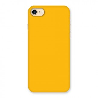 Gold Yellow Back Case for iPhone 7