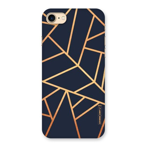 Golden Pattern Back Case for iPhone 7