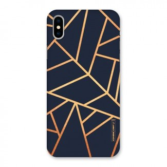 Golden Pattern Back Case for iPhone X