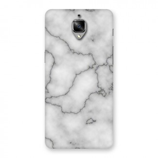 Grey Marble Back Case for OnePlus 3T
