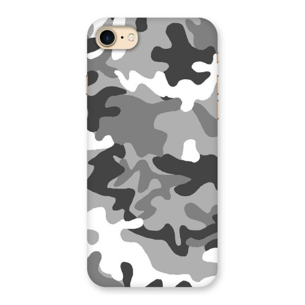 Grey Military Back Case for iPhone 7