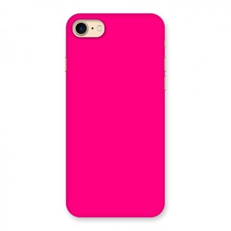 Hot Pink Back Case for iPhone 7