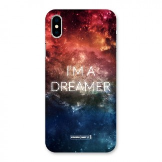 I am a Dreamer Back Case for iPhone X