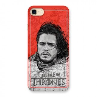 Jon Snow Nights Watch Back Case for iPhone 7