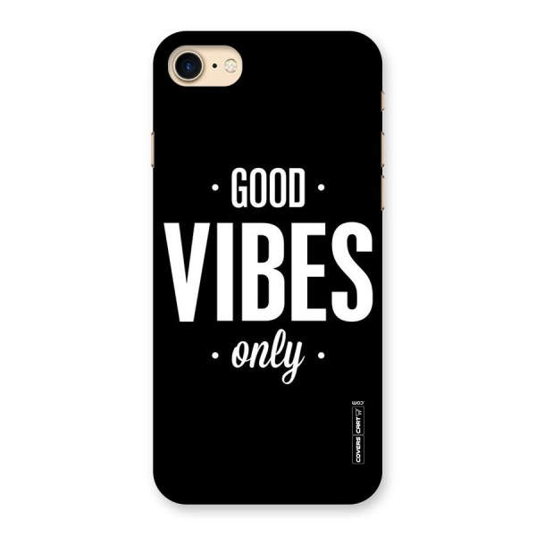 Just Vibes Back Case for iPhone 7