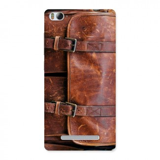 Leather Bag Design Back Case for Xiaomi Mi4i
