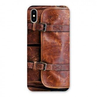 Leather Bag Design Back Case for iPhone X