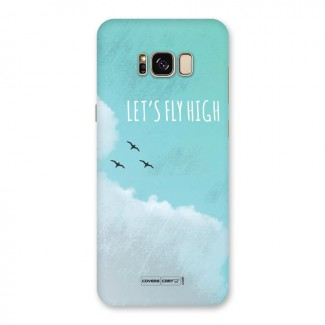 Lets Fly High Back Case for Galaxy S8 Plus