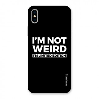 Limited Edition Back Case for iPhone X
