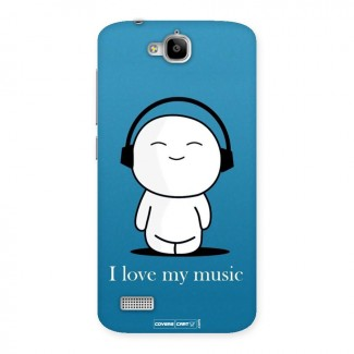 Love for Music Back Case for Honor Holly