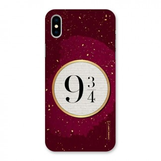 Magic Number Back Case for iPhone X