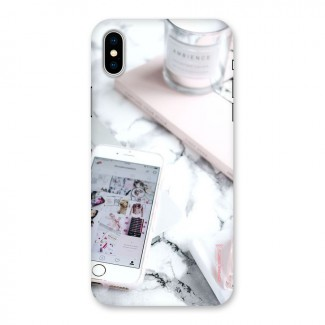 Make Up And Phone Back Case for iPhone X