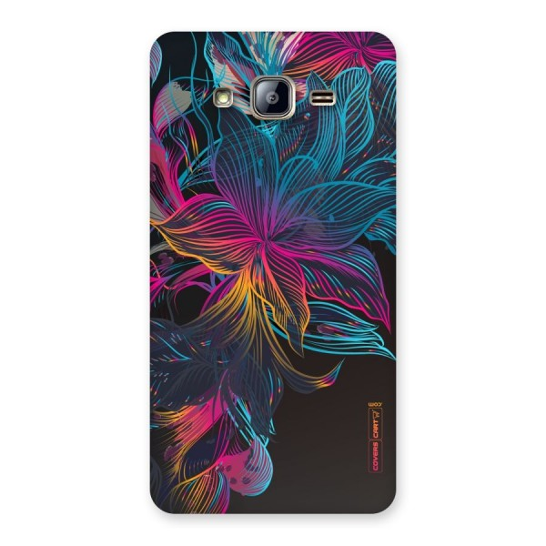 Multi-Colour Flowers Back Case for Galaxy On5