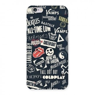 Music My Paradise Back Case for iPhone 6 6S