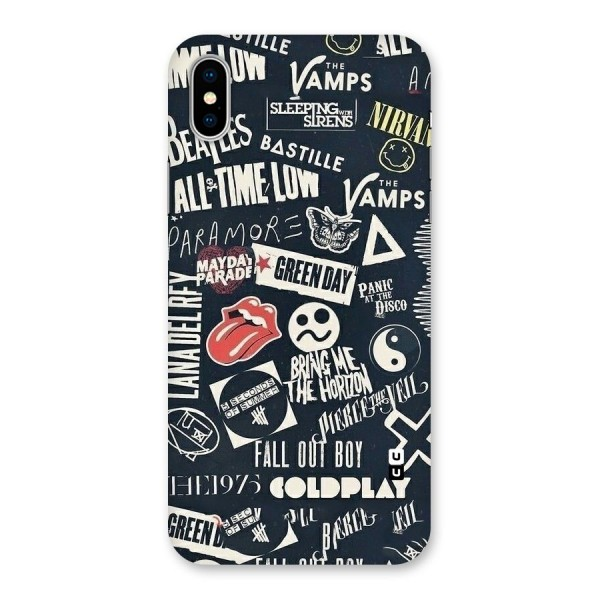 Music My Paradise Back Case for iPhone X