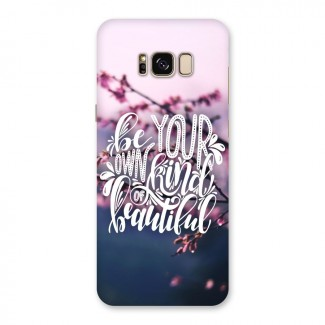 Own Kind of Beautiful Back Case for Galaxy S8 Plus