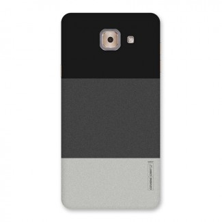 Pastel Black and Grey Back Case for Galaxy J7 Max