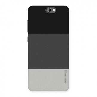 3cee59f17 Pastel Black and Grey Back Case for HTC One A9