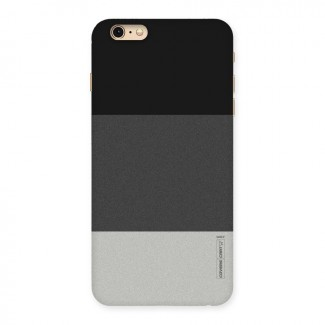 Pastel Black and Grey Back Case for iPhone 6 Plus 6S Plus