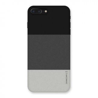 Pastel Black and Grey Back Case for iPhone 7 Plus