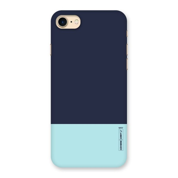 Pastel Blues Back Case for iPhone 7