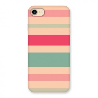 Pastel Stripes Vintage Back Case for iPhone 7