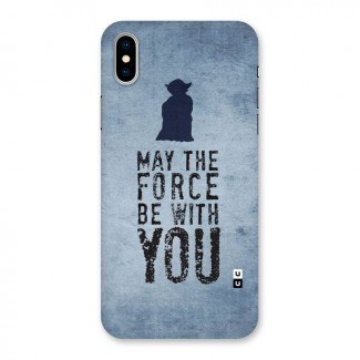 Power With You Back Case for iPhone X