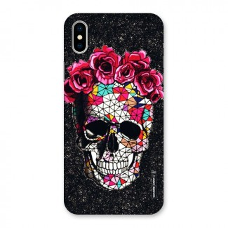 Pretty Dead Face Back Case for iPhone X