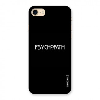 Psycopath Alert Back Case for iPhone 7