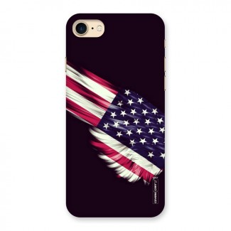 Red And White Stripes Stars Back Case for iPhone 7