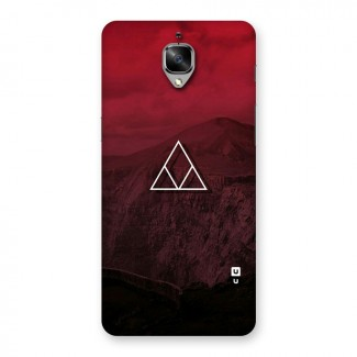 Red Hills Back Case for OnePlus 3T