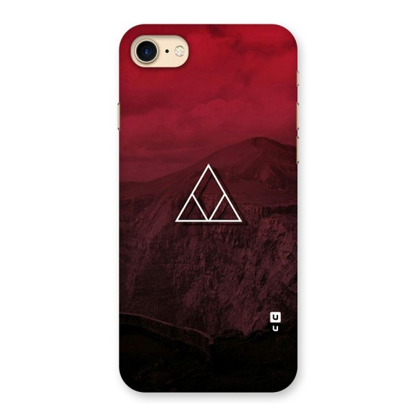 Red Hills Back Case for iPhone 7