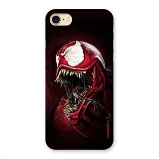 Red Venom Artwork Back Case for iPhone 7