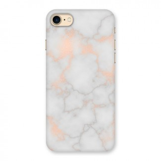 RoseGold Marble Back Case for iPhone 7