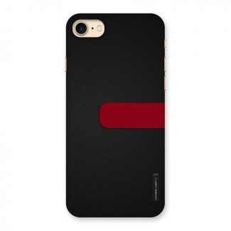 Single Red Stripe Back Case for iPhone 7