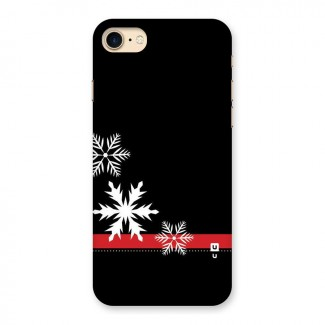 Snowflake Ribbon Back Case for iPhone 7