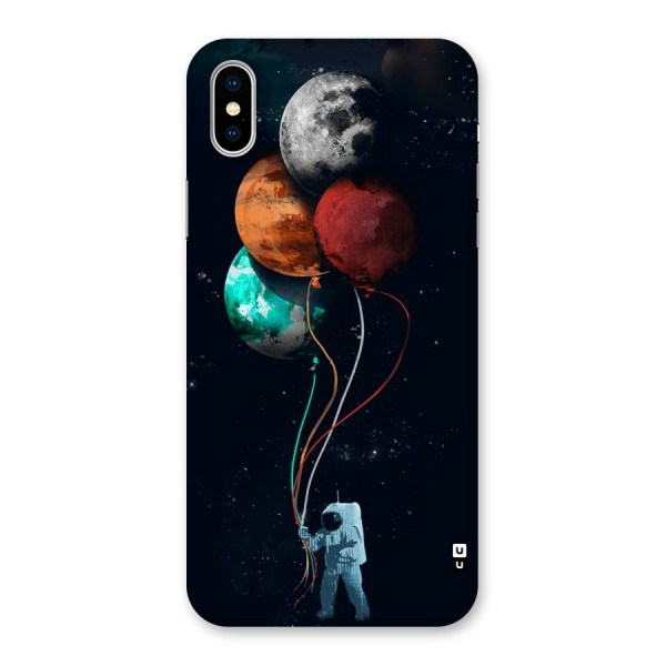 Space Balloons Back Case for iPhone X