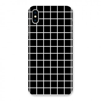 Square Puzzle Back Case for iPhone X