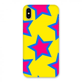 Star Pattern Back Case for iPhone X