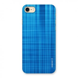 Stripe Blue Abstract Back Case for iPhone 7