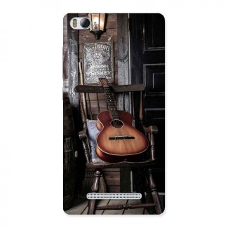 Vintage Chair Guitar Back Case for Xiaomi Mi4i