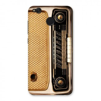 Vintage Radio Back Case for Redmi 4