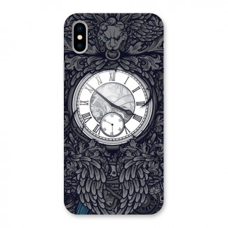 Wall Clock Back Case for iPhone X