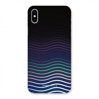 Wavy Stripes Back Case for iPhone X